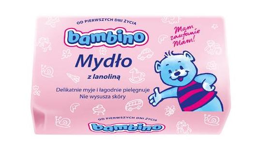 Dětské mýdlo BAMBINO s lanolínem 90g - 1ks