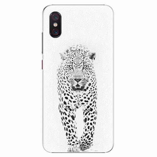 Plastový kryt iSaprio - White Jaguar - Xiaomi Mi 8 Pro
