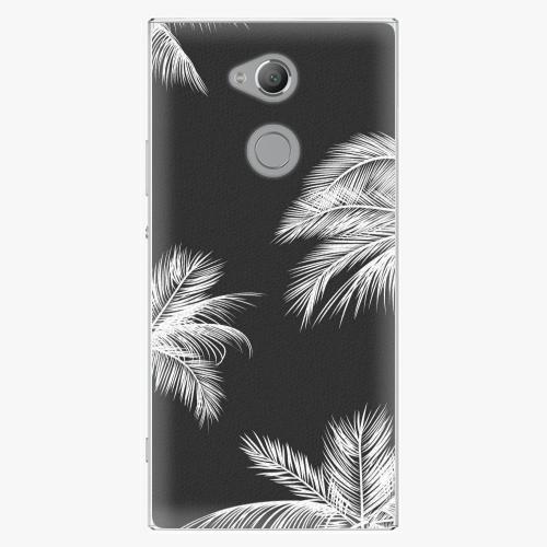Plastový kryt iSaprio - White Palm - Sony Xperia XA2 Ultra