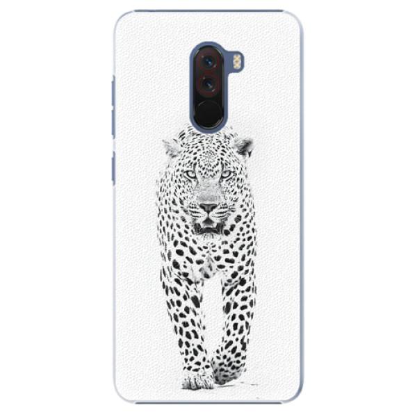Plastové pouzdro iSaprio - White Jaguar - Xiaomi Pocophone F1