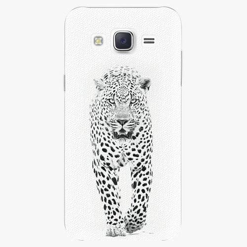 Plastový kryt iSaprio - White Jaguar - Samsung Galaxy J5