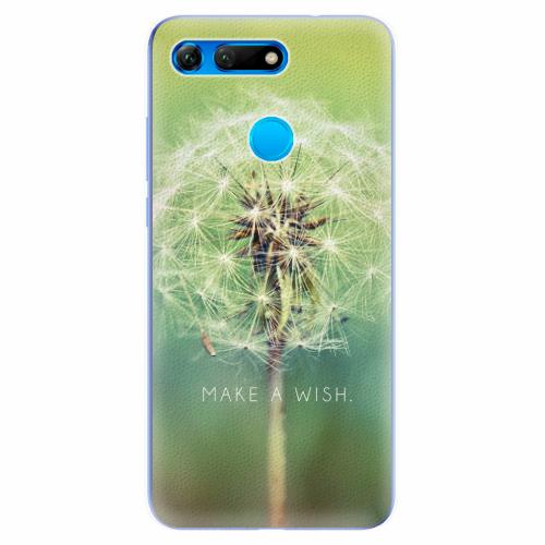 Silikonové pouzdro iSaprio - Wish - Huawei Honor View 20