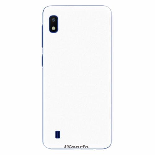 Plastový kryt iSaprio - 4Pure - bílý - Samsung Galaxy A10