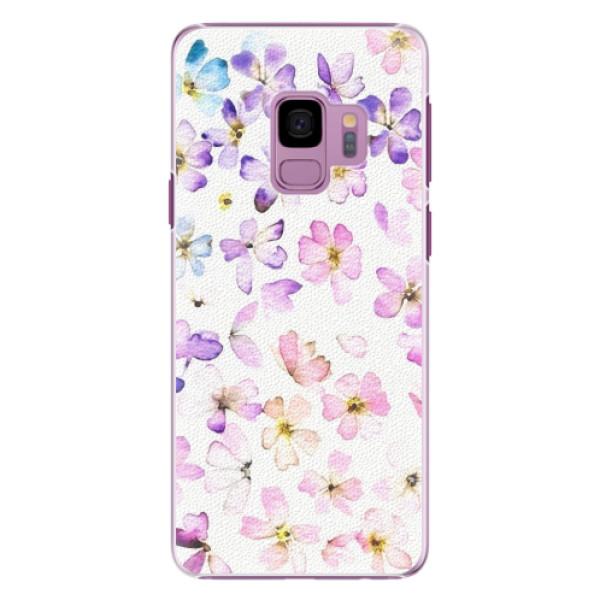 Plastové pouzdro iSaprio - Wildflowers - Samsung Galaxy S9
