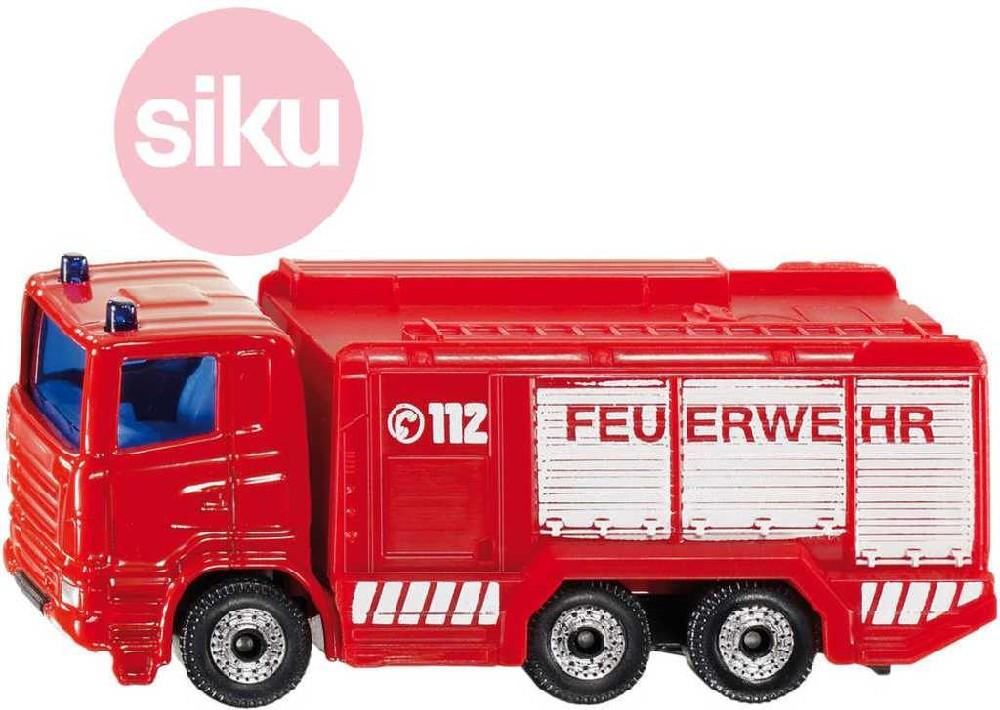 SIKU Auto hasiči cisterna požární kovový model 1034