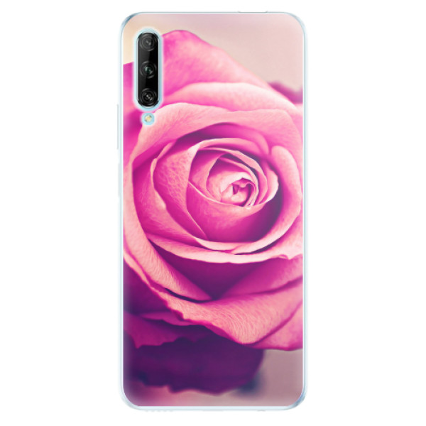 Odolné silikonové pouzdro iSaprio - Pink Rose - Huawei P Smart Pro