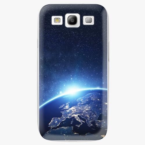 Plastový kryt iSaprio - Earth at Night - Samsung Galaxy S3