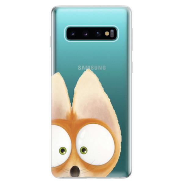 Odolné silikonové pouzdro iSaprio - Fox 02 - Samsung Galaxy S10