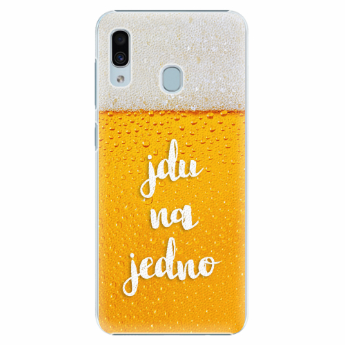 Plastový kryt iSaprio - Jdu na jedno - Samsung Galaxy A30