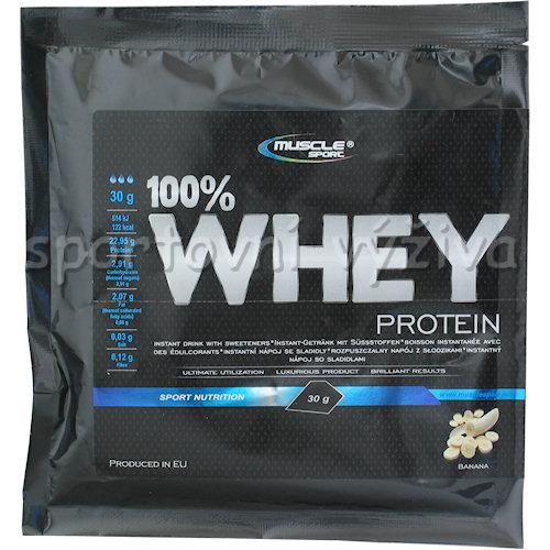 100% Whey protein - 30g-jahoda