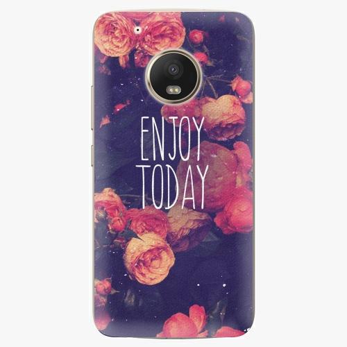 Plastový kryt iSaprio - Enjoy Today - Lenovo Moto G5 Plus