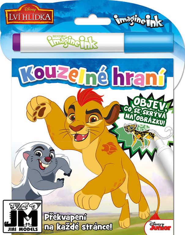 JIRI MODELS Kouzelné hraní Disney Lví hlídka aktivity s kouzelnou fixou