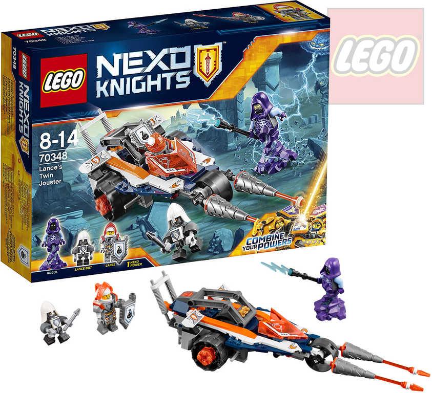 LEGO NEXO KNIGHTS Lance a turnajový vůz 70348 STAVEBNICE