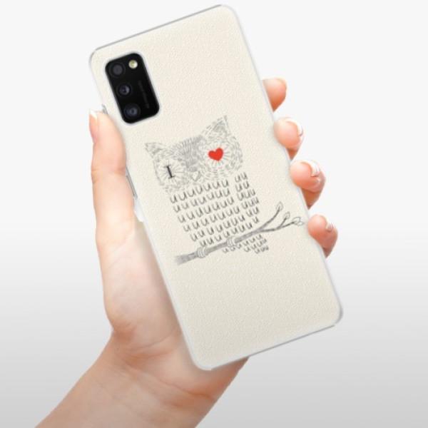Plastové pouzdro iSaprio - I Love You 01 - Samsung Galaxy A41