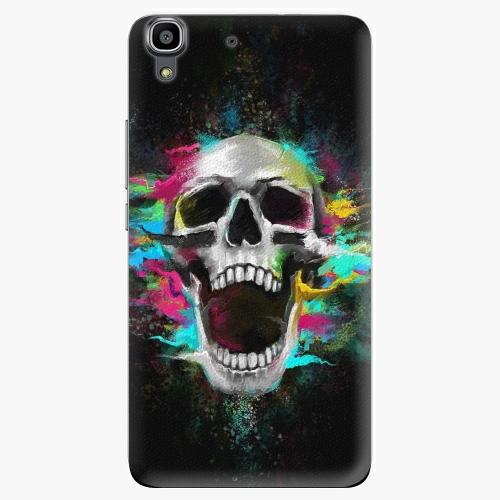 Plastový kryt iSaprio - Skull in Colors - Huawei Ascend Y6