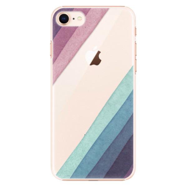 Plastové pouzdro iSaprio - Glitter Stripes 01 - iPhone 8