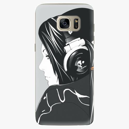 Plastový kryt iSaprio - Headphones - Samsung Galaxy S7