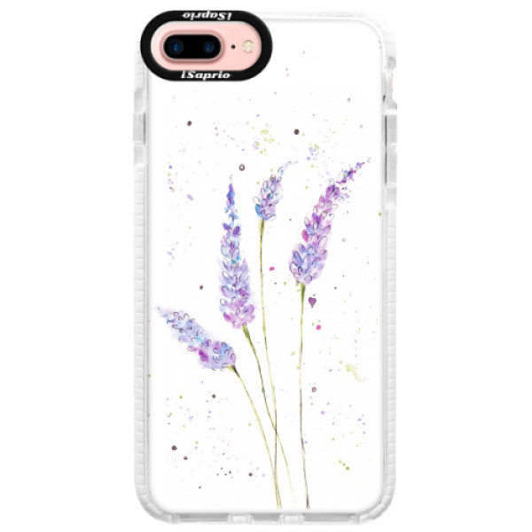 Silikonové pouzdro Bumper iSaprio - Lavender - iPhone 7 Plus
