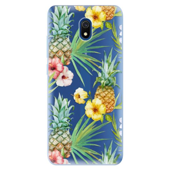 Odolné silikonové pouzdro iSaprio - Pineapple Pattern 02 - Xiaomi Redmi 8A