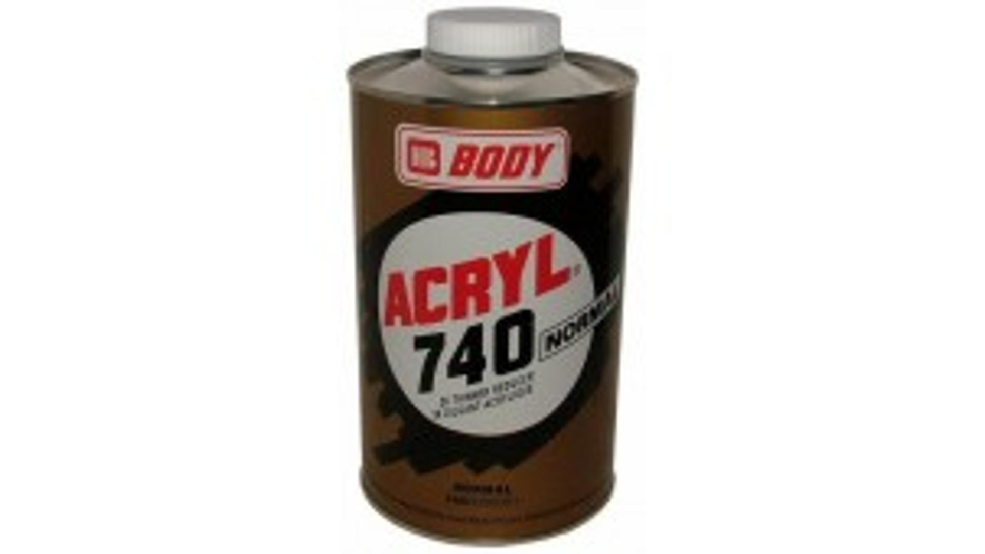 HB BODY 740 akrylové ředidlo normal 500ml