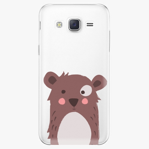 Plastový kryt iSaprio - Brown Bear - Samsung Galaxy J5