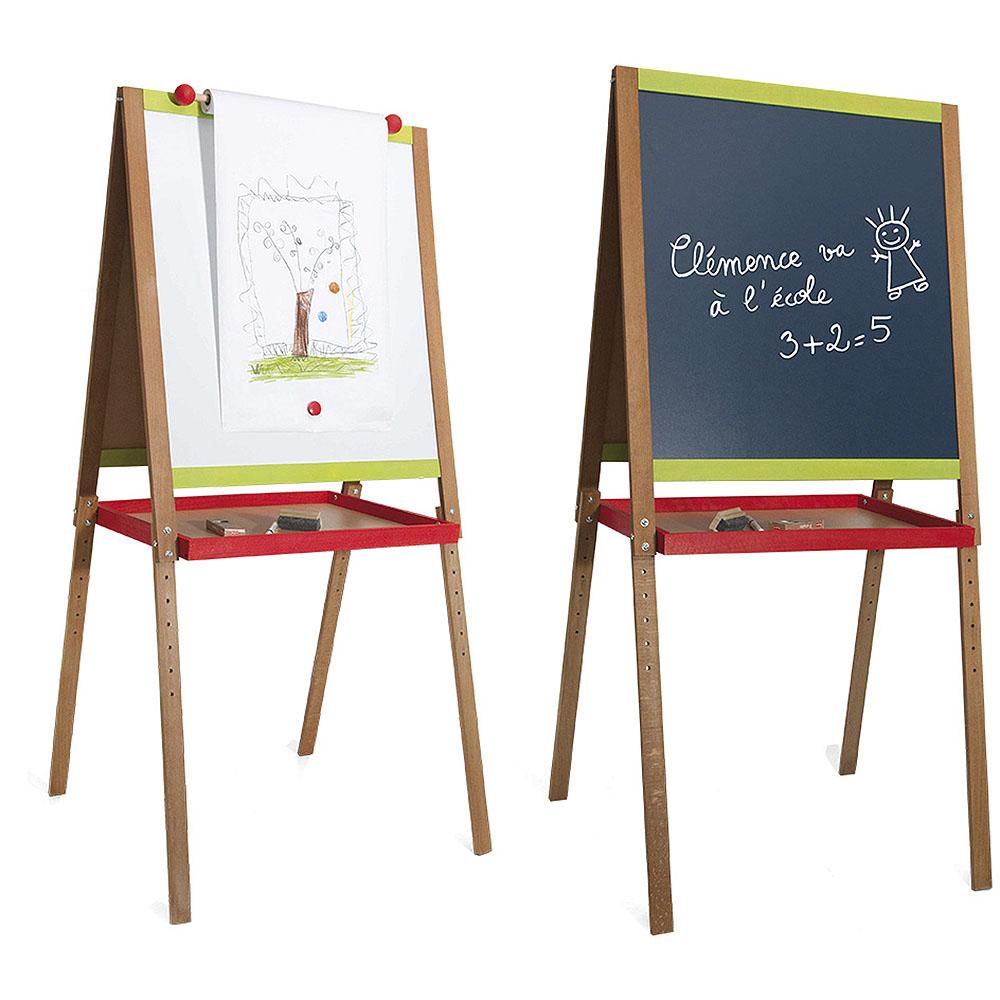 Jeujura Dřevěná multifunční tabule Drawing velká