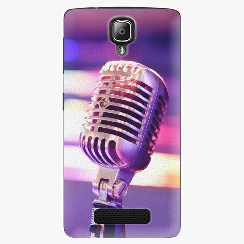 Plastový kryt iSaprio - Vintage Microphone - Lenovo A1000