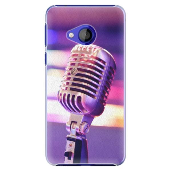 Plastové pouzdro iSaprio - Vintage Microphone - HTC U Play