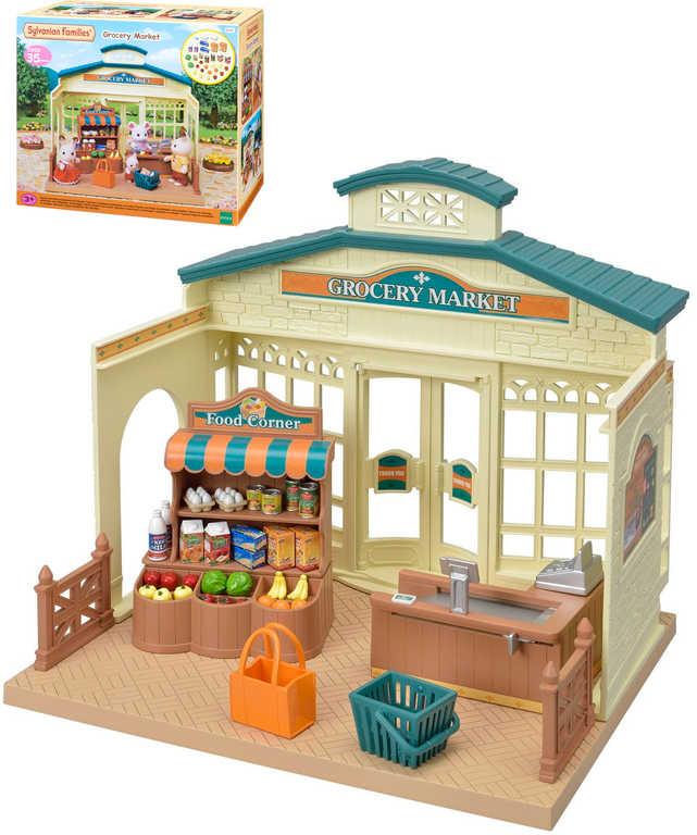 Sylvanian Families obchod s potravinami herní set v krabici