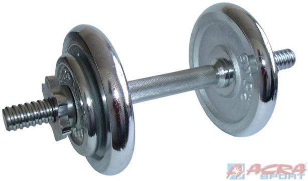 ACRA Činka jednoruční 1 x 8,5 kg chromované
