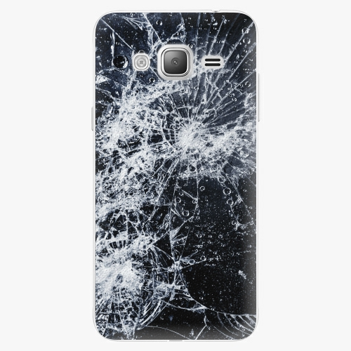 Plastový kryt iSaprio - Cracked - Samsung Galaxy J3 2016