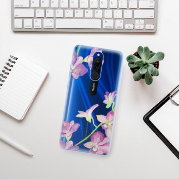 Odolné silikonové pouzdro iSaprio - Purple Orchid - Xiaomi Redmi 8
