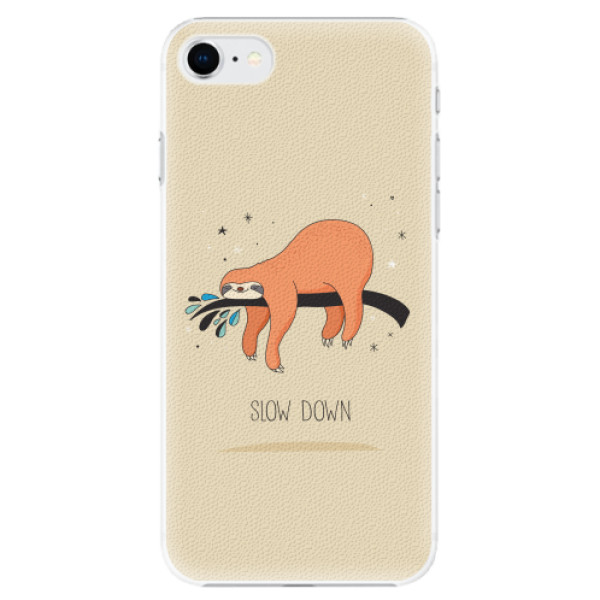 Plastové pouzdro iSaprio - Slow Down - iPhone SE 2020