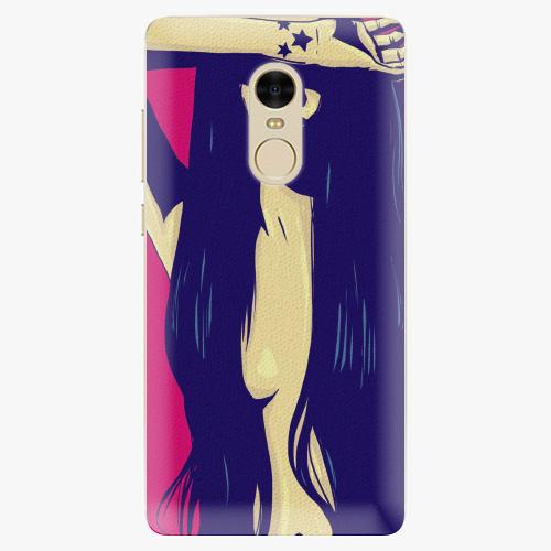 Plastový kryt iSaprio - Cartoon Girl - Xiaomi Redmi Note 4