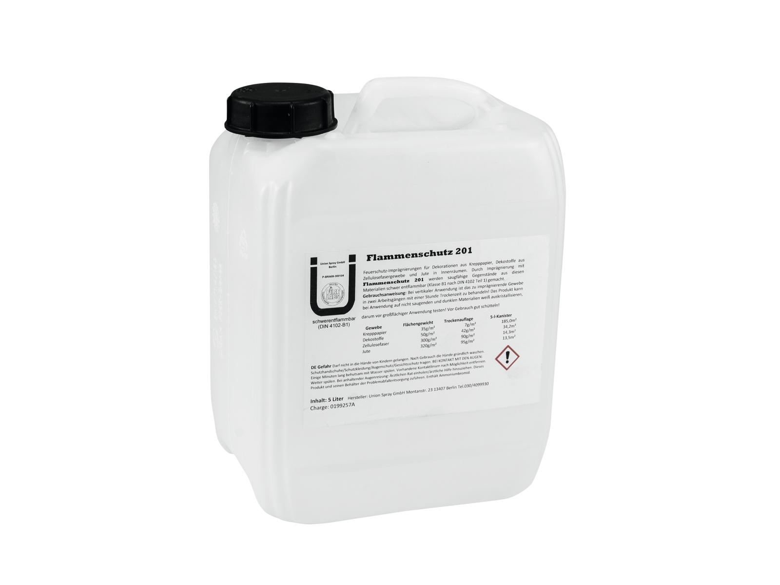 Protipožární sprej DIN4102/B1, 10 ltr.