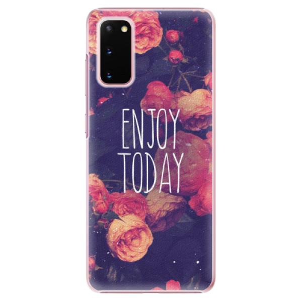 Plastové pouzdro iSaprio - Enjoy Today - Samsung Galaxy S20