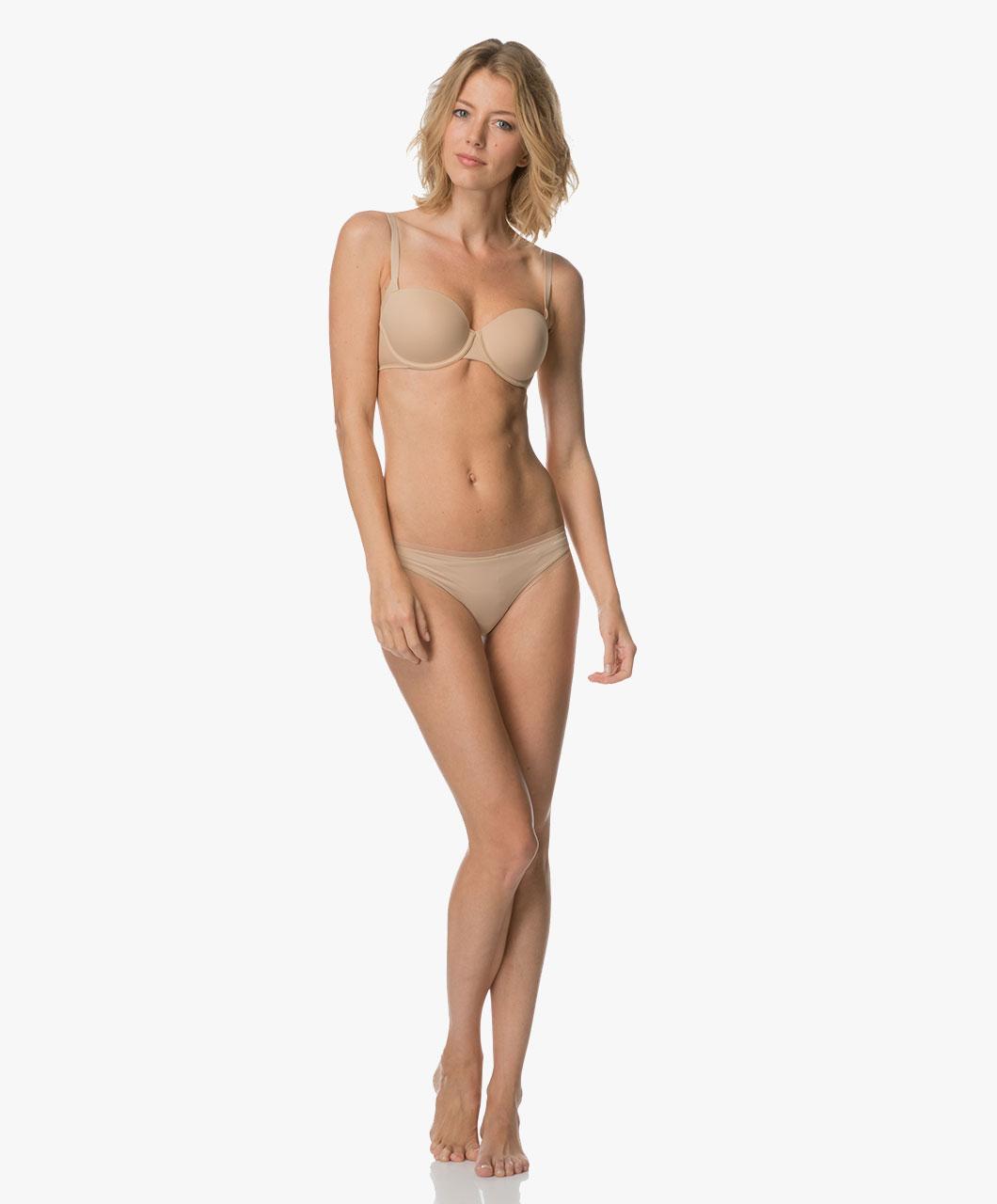 Podprsenka balkonová QF1833E tělová - Calvin Klein