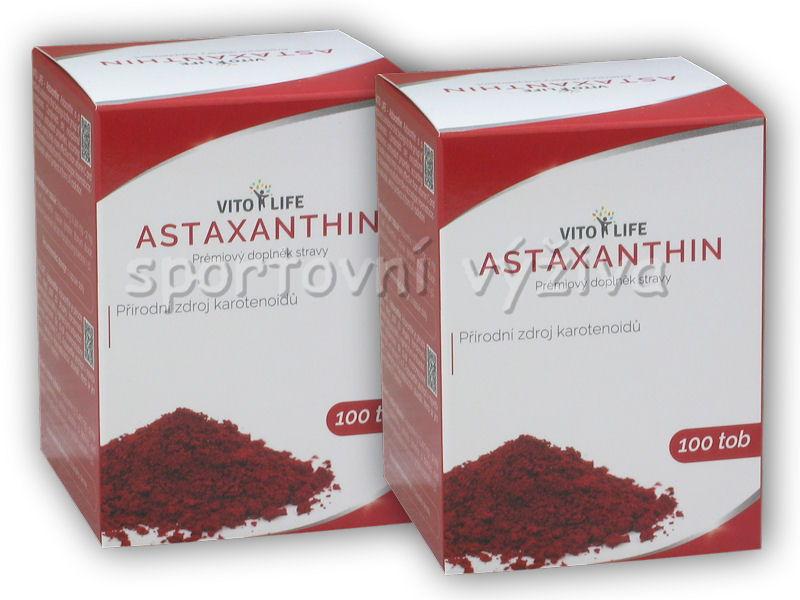 2x Astaxanthin 12mg 100 kapslí