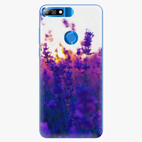 Plastový kryt iSaprio - Lavender Field - Huawei Y7 Prime 2018