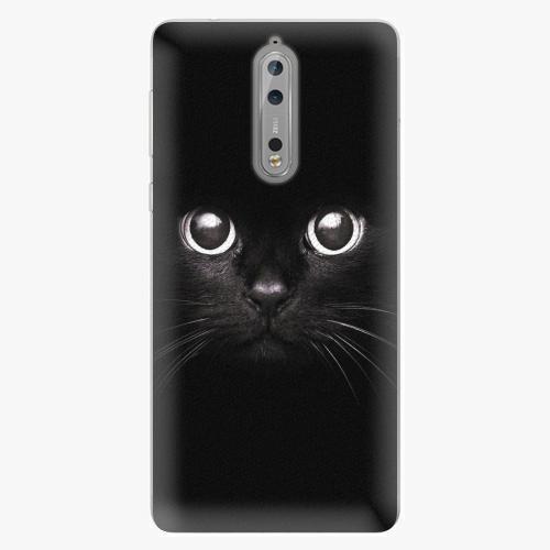 Plastový kryt iSaprio - Black Cat - Nokia 8