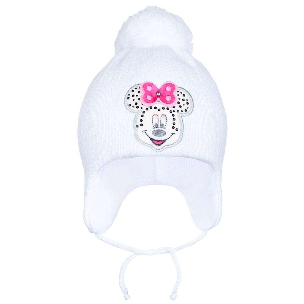 Zimní dětská čepička New Baby Minnie