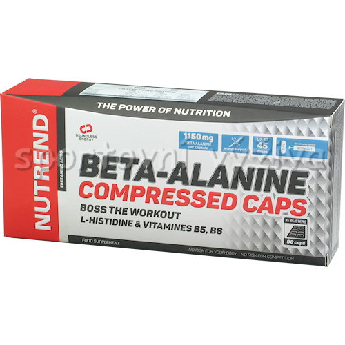 Beta-Alanine Compressed Caps 90 kapslí