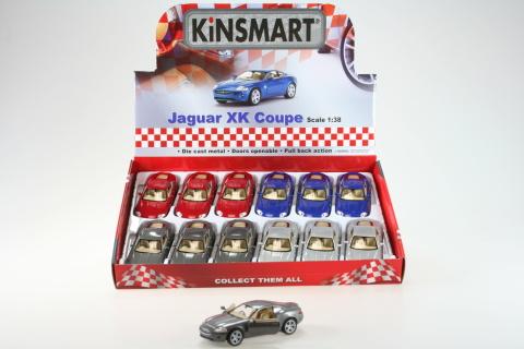 Kinsmart Jaguar XK Coupe 12/bal