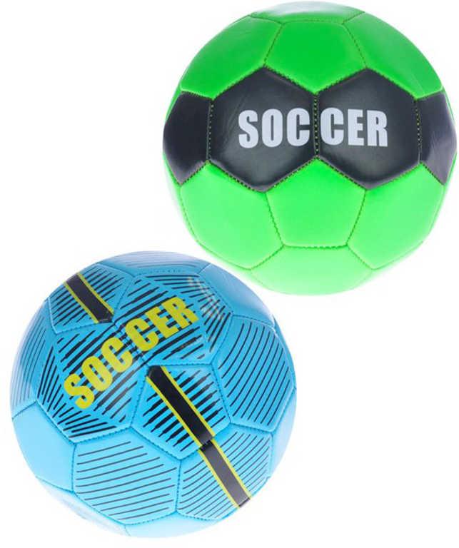 Míč fotbalový 15cm 150g balon na kopanou 2 barvy