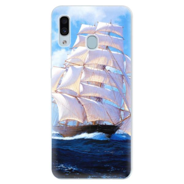 Silikonové pouzdro iSaprio - Sailing Boat - Samsung Galaxy A30
