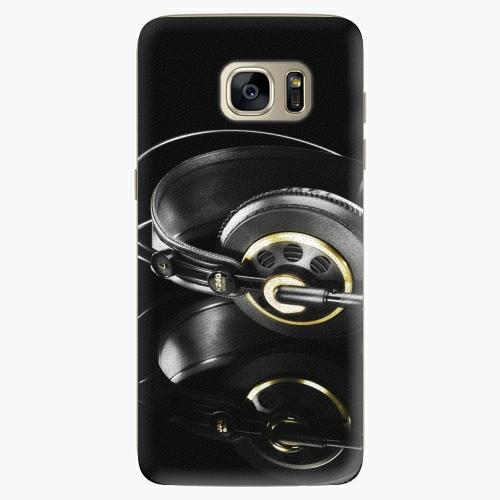 Plastový kryt iSaprio - Headphones 02 - Samsung Galaxy S7 Edge