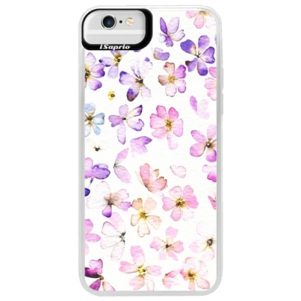 Neonové pouzdro Blue iSaprio - Wildflowers - iPhone 6 Plus/6S Plus
