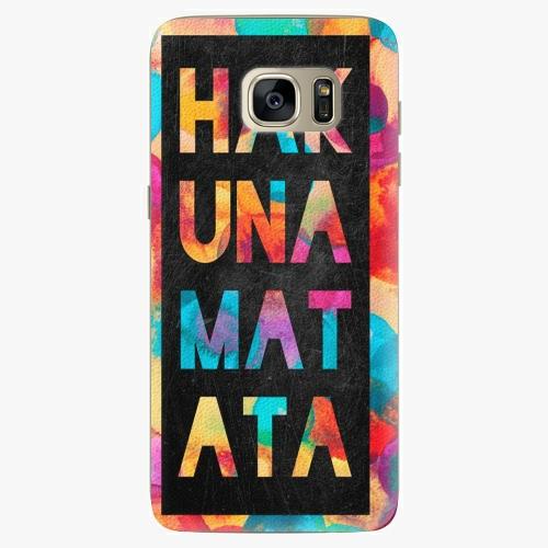 Plastový kryt iSaprio - Hakuna Matata 01 - Samsung Galaxy S7