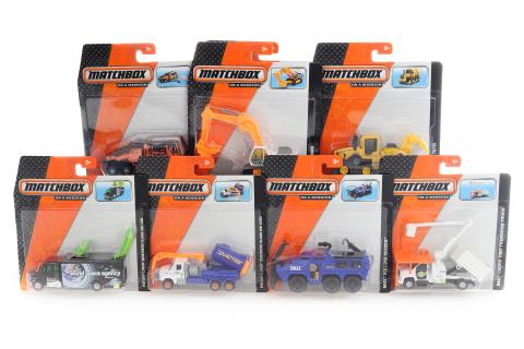 Matchbox náklaďáčky N3242