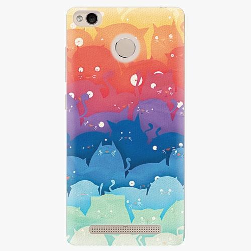 Plastový kryt iSaprio - Cats World - Xiaomi Redmi 3S